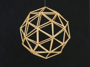 """DIY """"Sun or Moon"""" himmeli kit"""